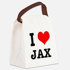 JAX.png Canvas Lunch Bag