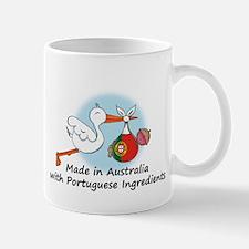 Stork Baby Australia Portugal Mug