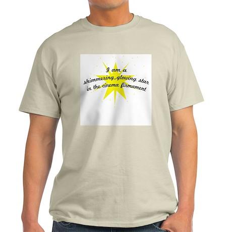 Lena Glowing Star Ash Grey T-Shirt