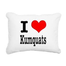 kumquats.png Rectangular Canvas Pillow