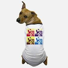 Dinosaur T-Rex Pop Art Dog T-Shirt