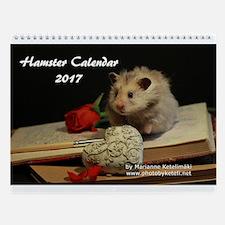 Hamster Wall Calendar 2014