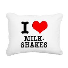 MILKSHAKES.png Rectangular Canvas Pillow