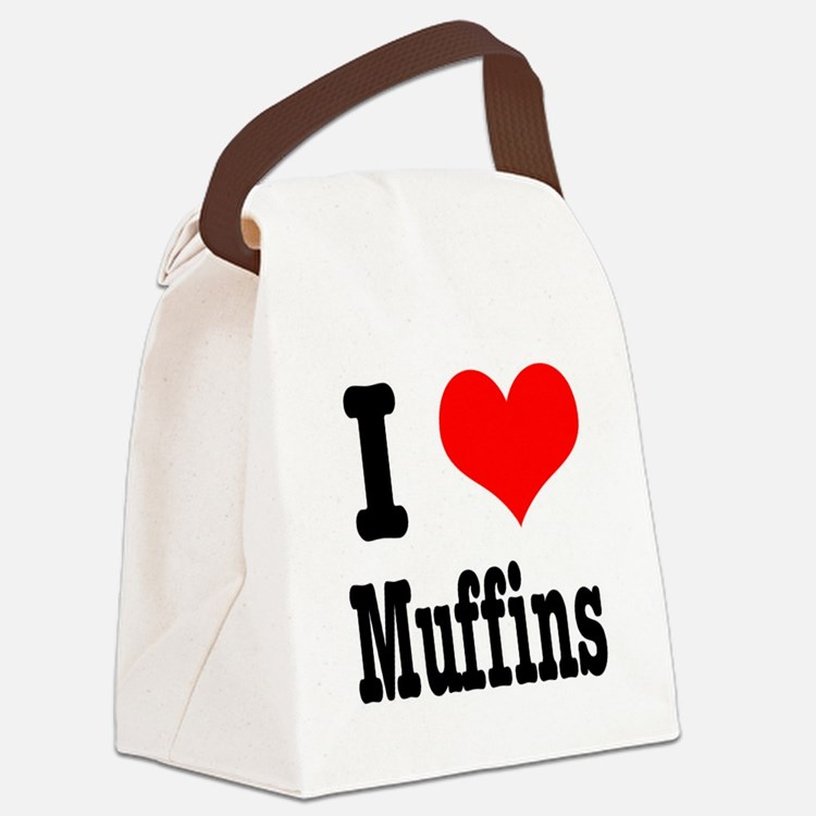 muffins.png Canvas Lunch Bag