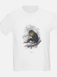 Wanderoo Monkey (Front) Kids T-Shirt