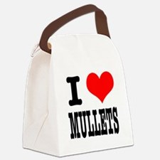 MULLETS.png Canvas Lunch Bag