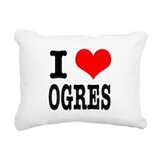 OGRES.png Rectangular Canvas Pillow