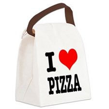 PIZZA.png Canvas Lunch Bag