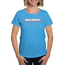 Audio Engineer T-Shirt (women's dark)