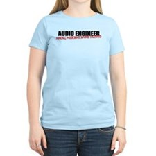 Audio Engineer T-Shirt (women's light)