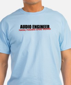 Audio Engineer T-Shirt (men's light)