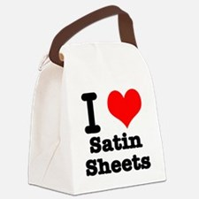 satin sheets.png Canvas Lunch Bag