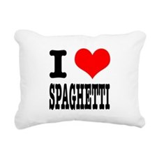 SPAGHETTI.png Rectangular Canvas Pillow
