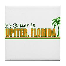 Cute Tampa Tile Coaster