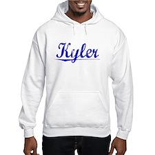 Kyler, Blue, Aged Jumper Hoody