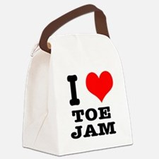 TOE JAM.png Canvas Lunch Bag