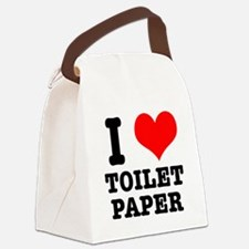 toilet paper.png Canvas Lunch Bag