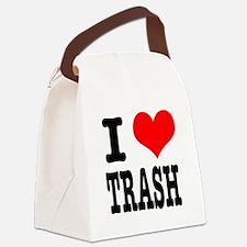 TRASH.png Canvas Lunch Bag
