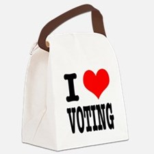 VOTING.png Canvas Lunch Bag