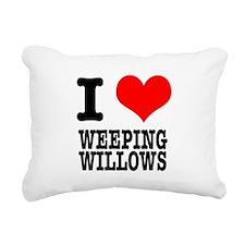 WEEPING WILLOWS.png Rectangular Canvas Pillow