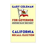 Gary Coleman for Governor Poster Print