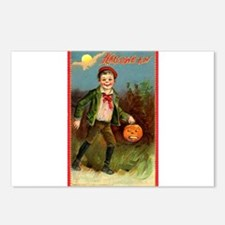 Trick or Treating Postcards (Package of 8)