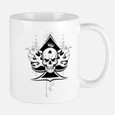 ace of spades skull Mug