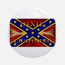 OFFICIAL DIXIE LIGHTNING Ornament (Round)
