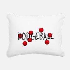 DODGEBALL2.jpg Rectangular Canvas Pillow