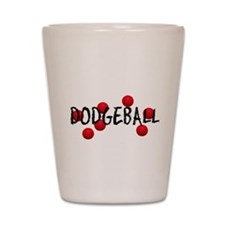 DODGEBALL2.jpg Shot Glass