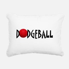 DODGEBALL1.jpg Rectangular Canvas Pillow