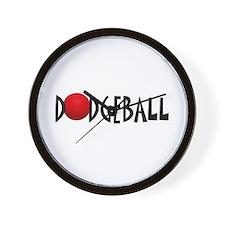 DODGEBALL1.jpg Wall Clock