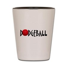 DODGEBALL1.jpg Shot Glass