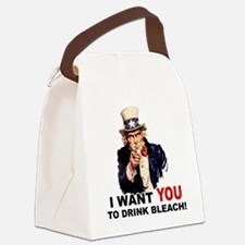 DRINK BLEACH.png Canvas Lunch Bag
