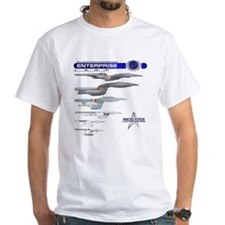 U.s.s. Enterprise Lineage T-Shirt