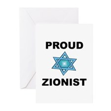 Proud Zionist Greeting Cards (Pk of 10)