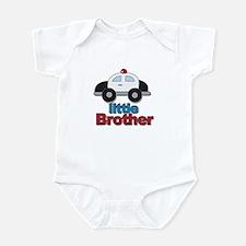 Little Brother Police Car Infant Bodysuit