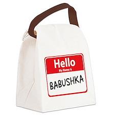 babushka.png Canvas Lunch Bag