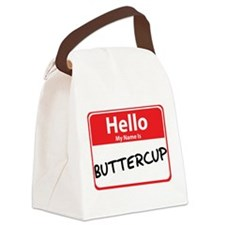 buttercup.png Canvas Lunch Bag