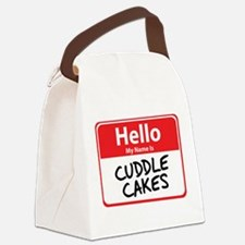 cuddle cakes.png Canvas Lunch Bag