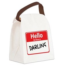 darling.png Canvas Lunch Bag