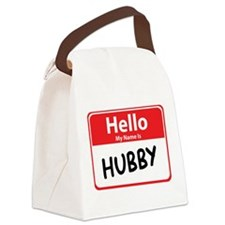 hubby.png Canvas Lunch Bag