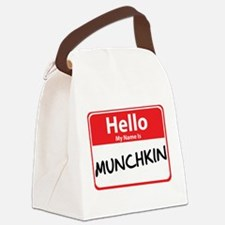 munchkin.png Canvas Lunch Bag