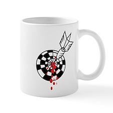 Darts and blood Mug