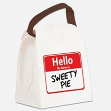 sweety pie.png Canvas Lunch Bag