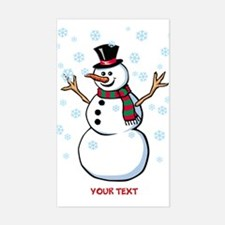 Custom Snowman Decal