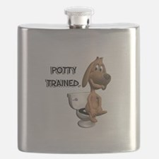 potty trained dog.png Flask