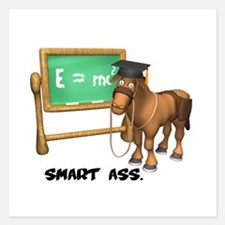 smart ass.png 5.25 x 5.25 Flat Cards