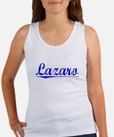 Lazaro, Blue, Aged Women's Tank Top