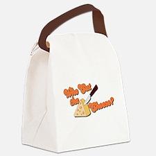 cut cheese.psd Canvas Lunch Bag
